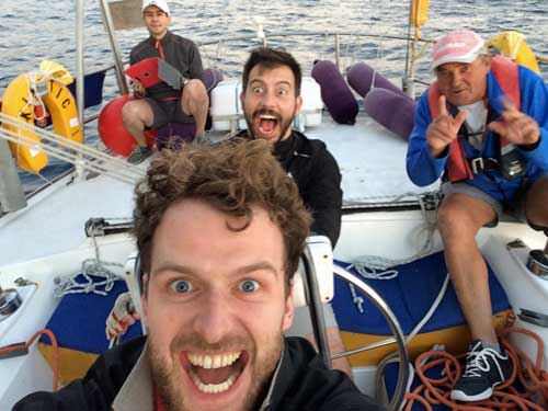 Having fun and learning Sailing Courses Gran Canaria