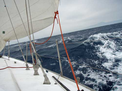 Boat handling in stormy weather Sailing Courses Gran Canaria